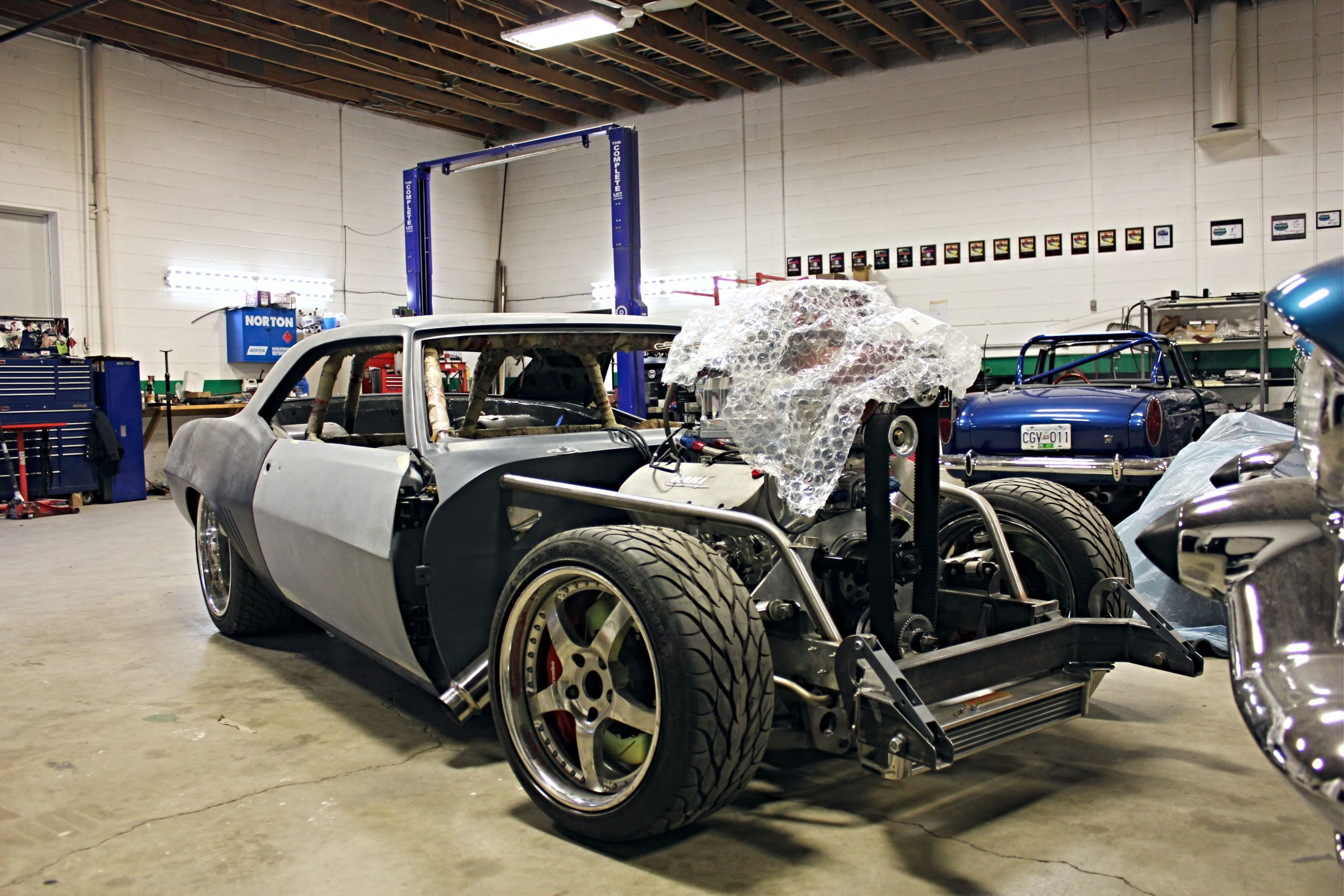360 Fabrications 1969 Camaro Bully 1