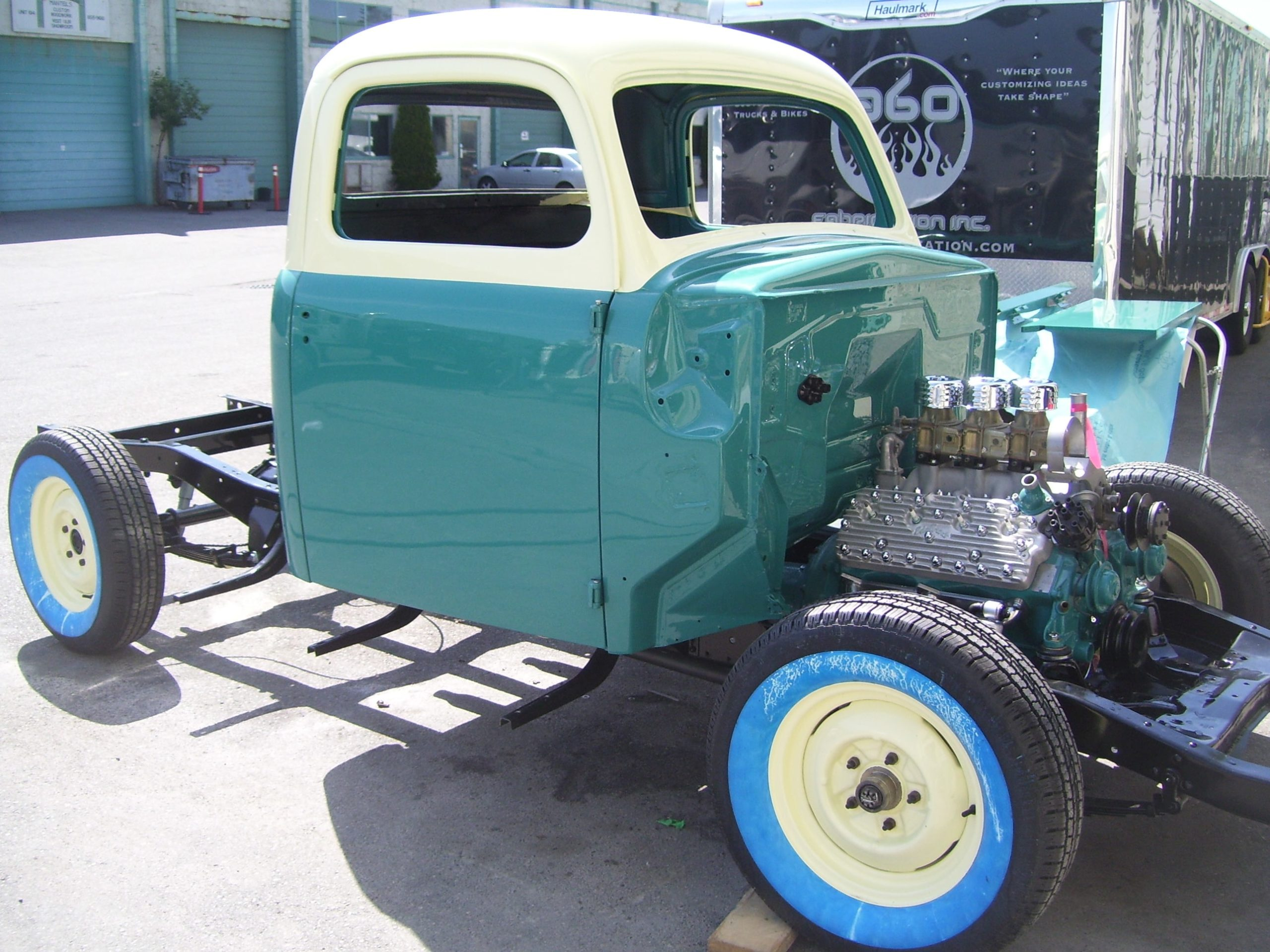360 Fabrication 1951 Ford Pick-Up GTO 12