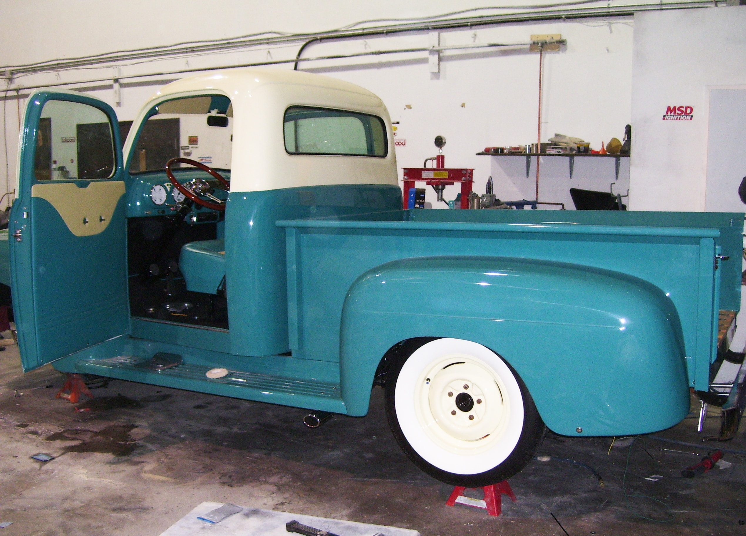 360 Fabrication 1951 Ford Pick-Up GTO 9
