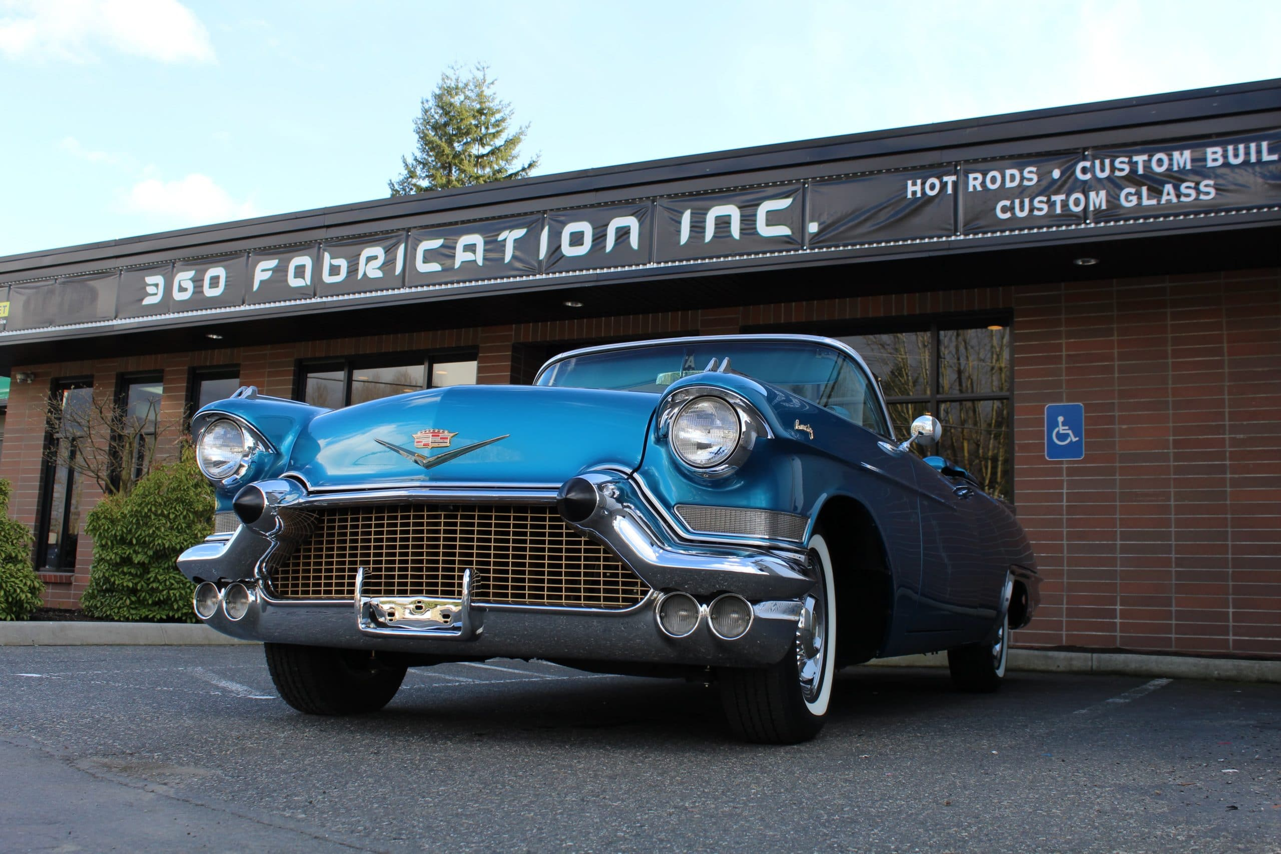 360 Fabrication 1957 Cadillac 13