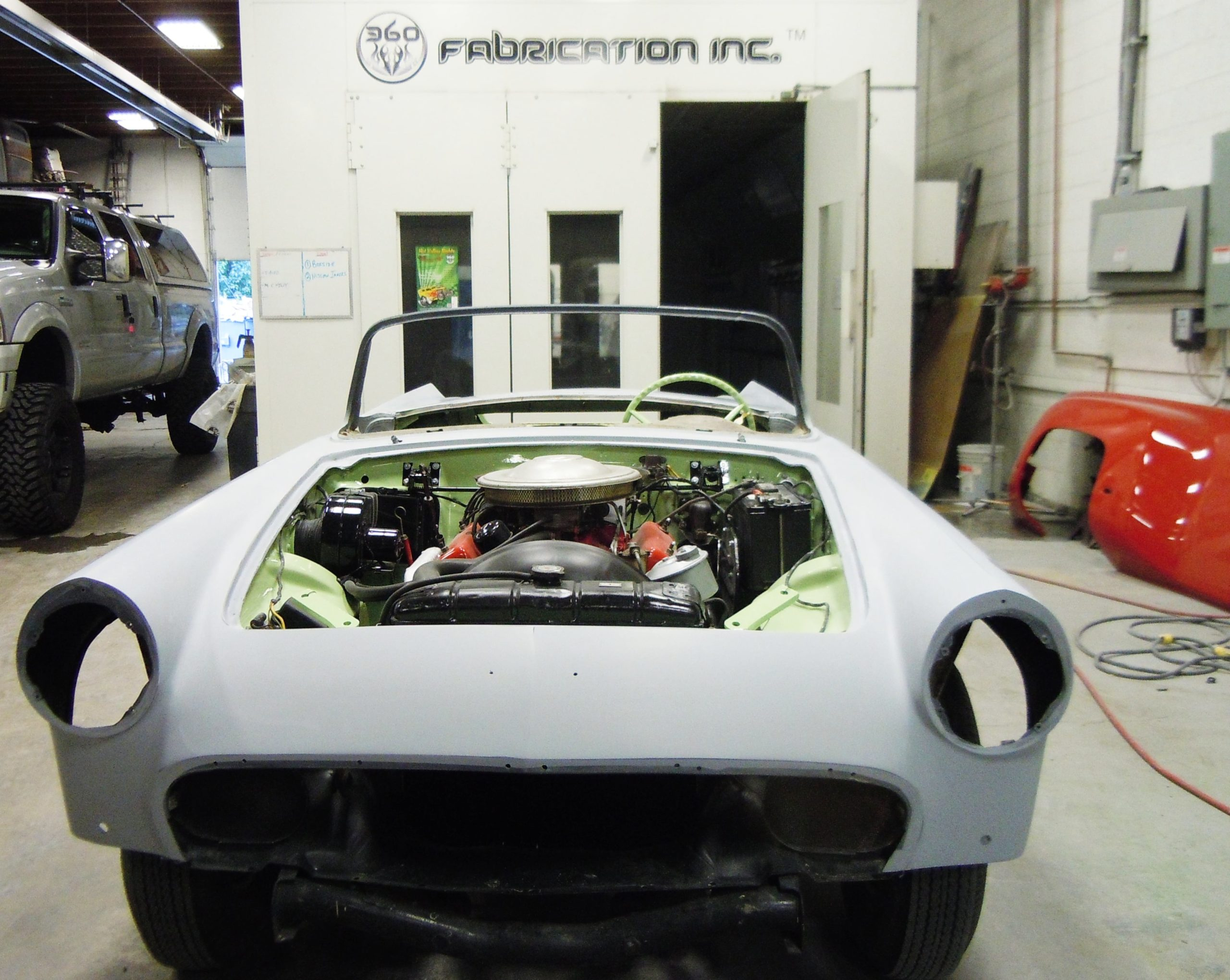 360 Fabrication 1957 T Bird 5