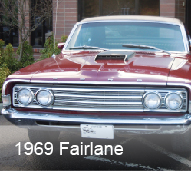 360 Fabrication 1969 Fairlane