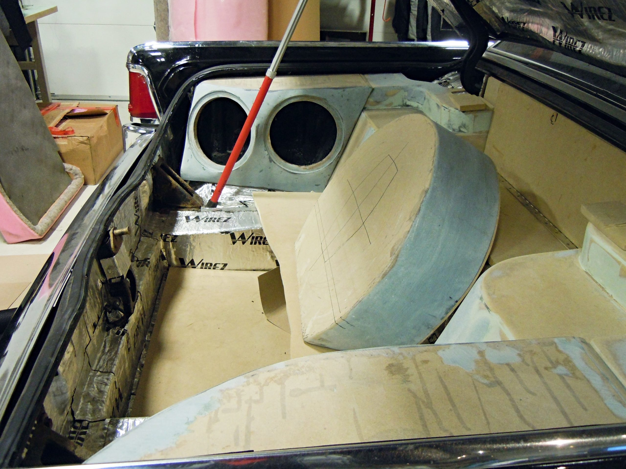 360 Fabrication 1964 Ford Lincoln 1