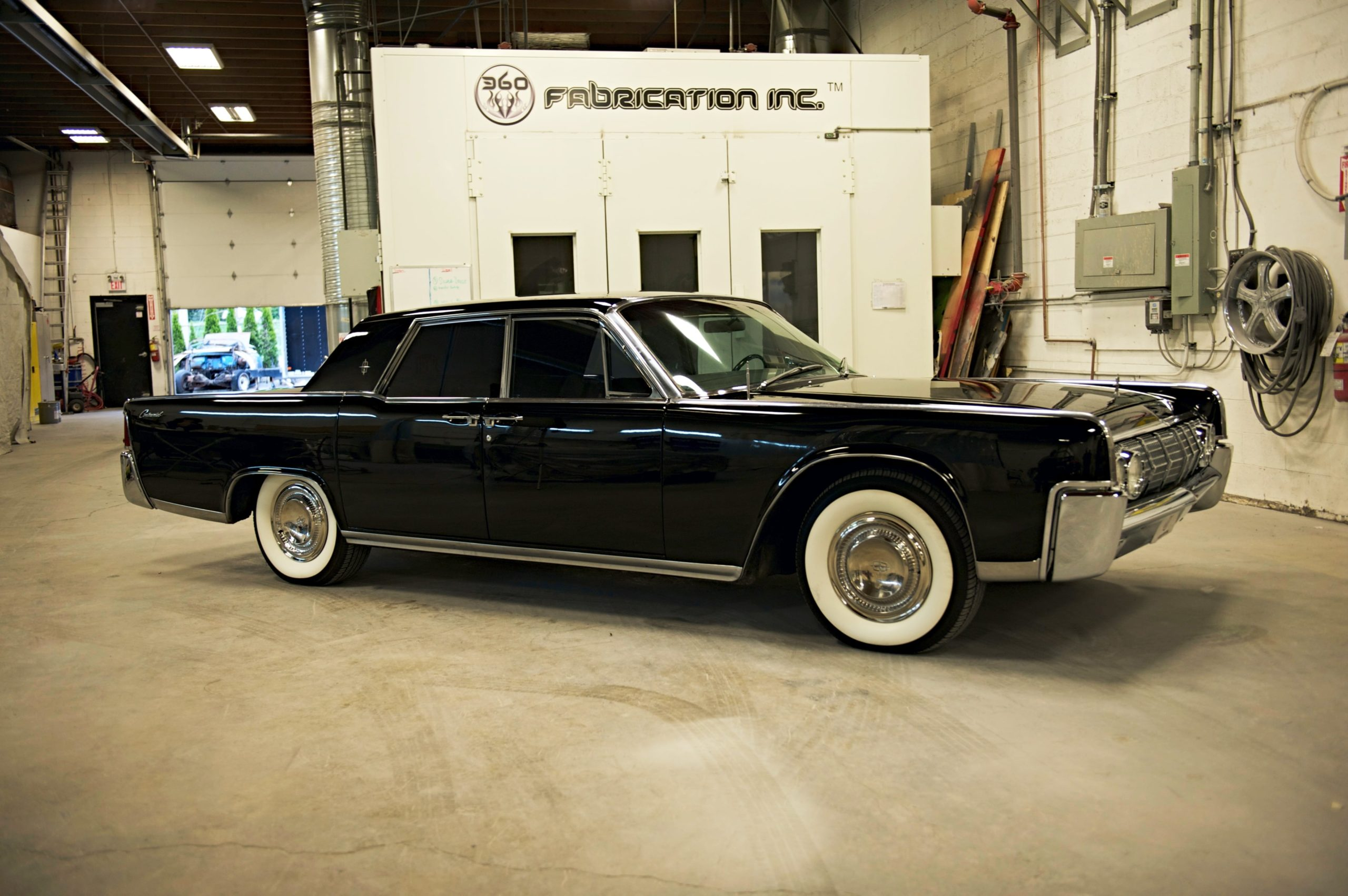 360 Fabrication 1964 Ford Lincoln 10