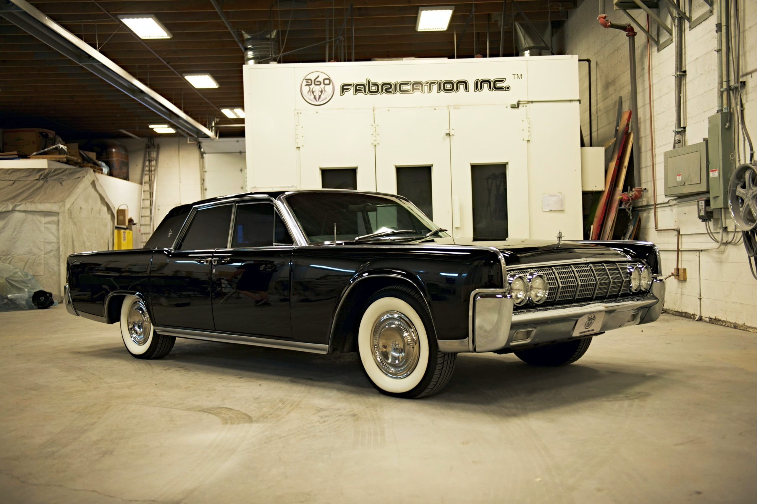 360 Fabrication 1964 Ford Lincoln 11