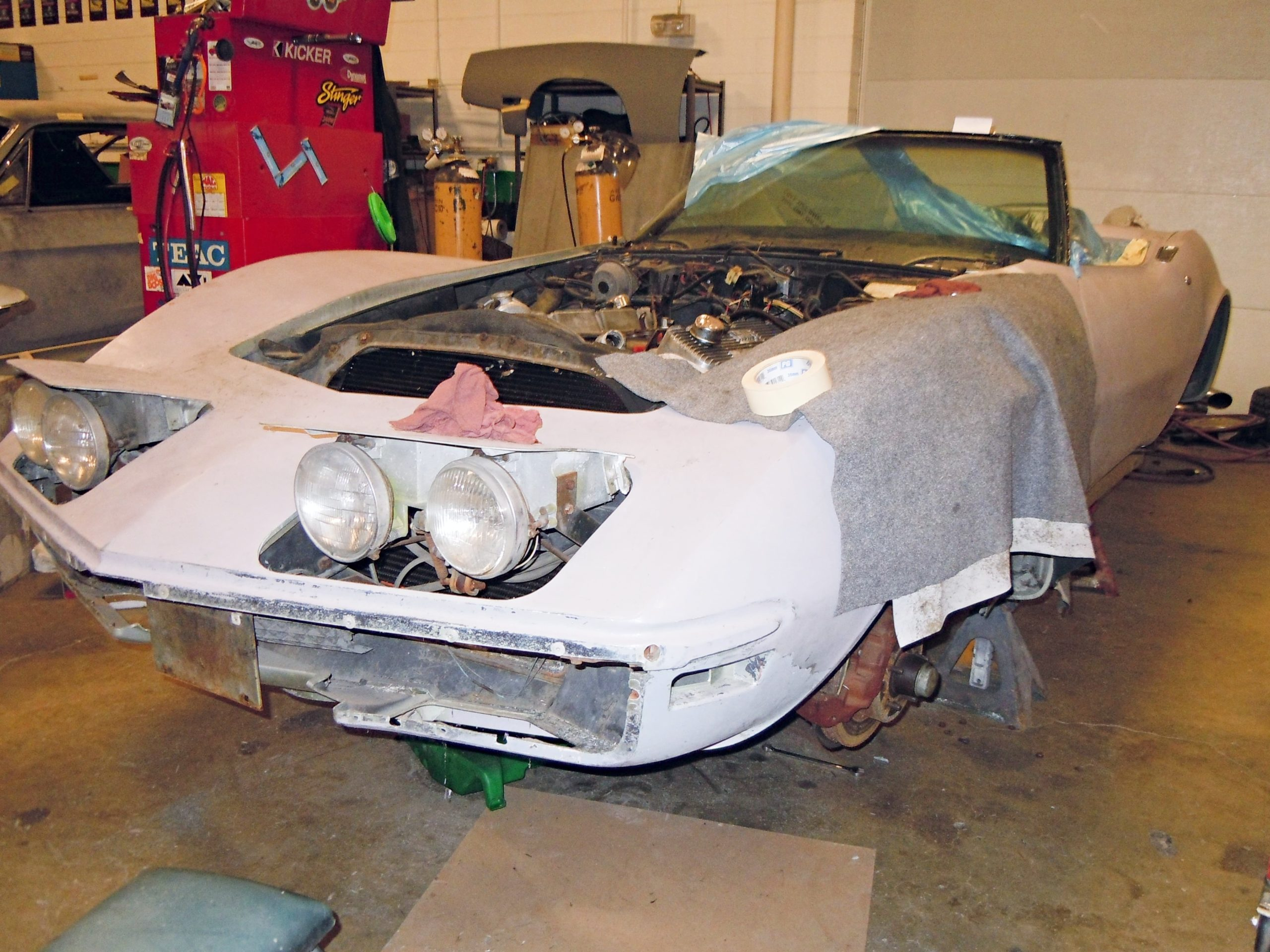 360 Fabrications 1972 Corvette 1