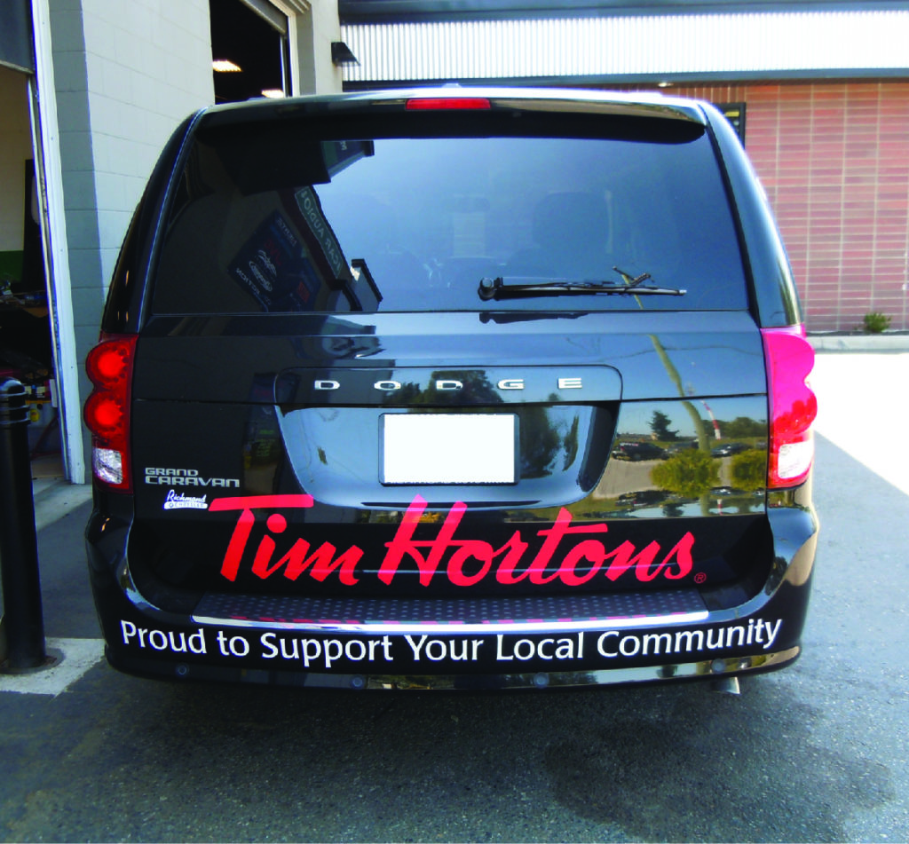 360 Fabrications Tim Hortons Van 10