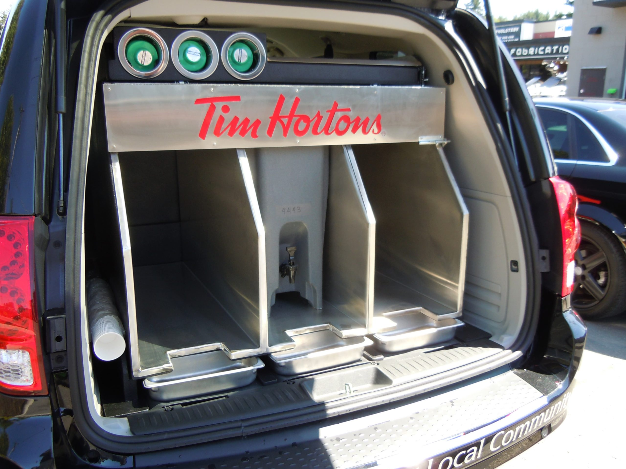 360 Fabrications Tim Hortons Van 3