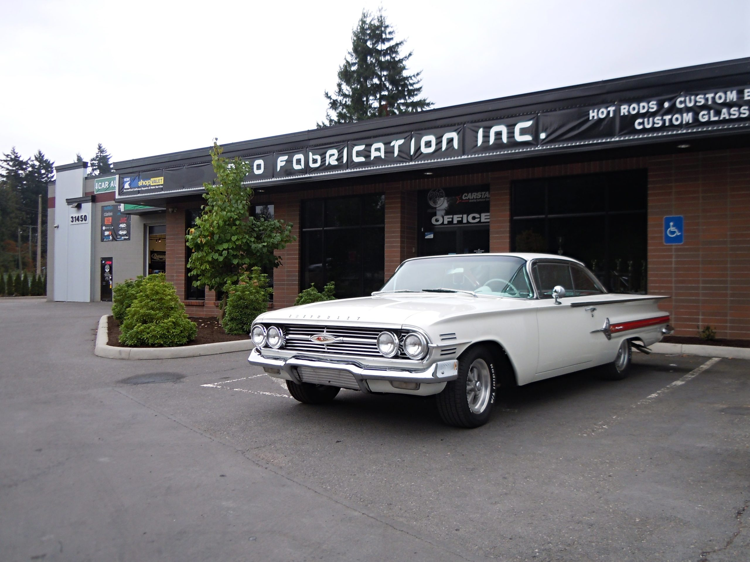 360 Frabrication 1960 Impala 10