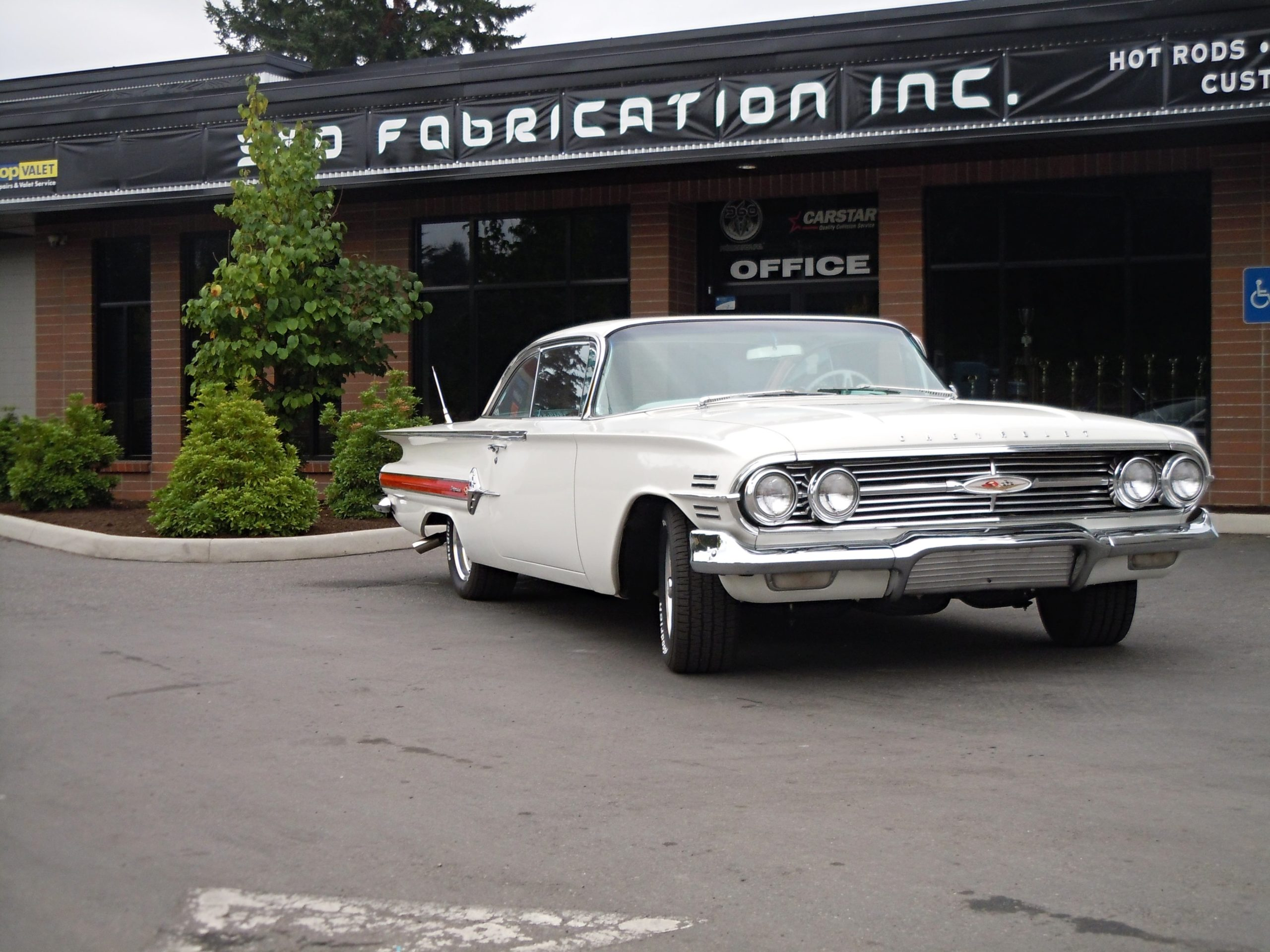 360 Frabrication 1960 Impala 11