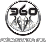 360 Fabrication Logo